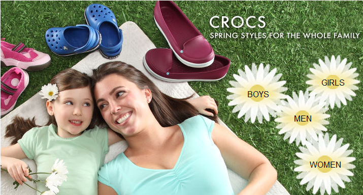 zulily crocs deals
