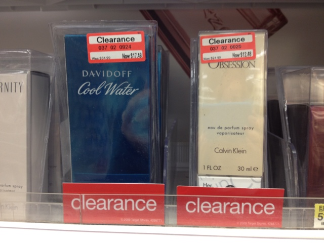 target clearance fragrance cologne calvin klein obsession