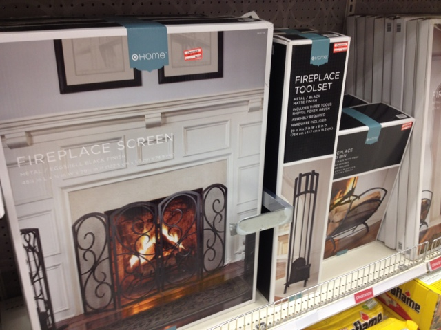 target clearance fireplace accessories