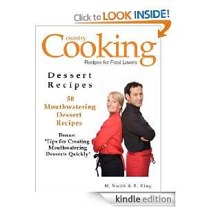country cooking cookie recipes kindle