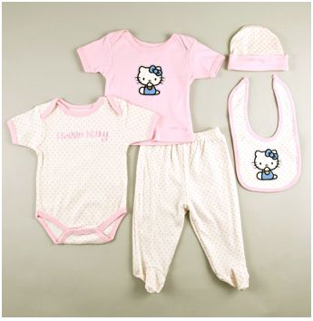 Hello Kitty Layette