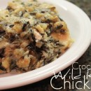 crock pot chicken with wild rice
