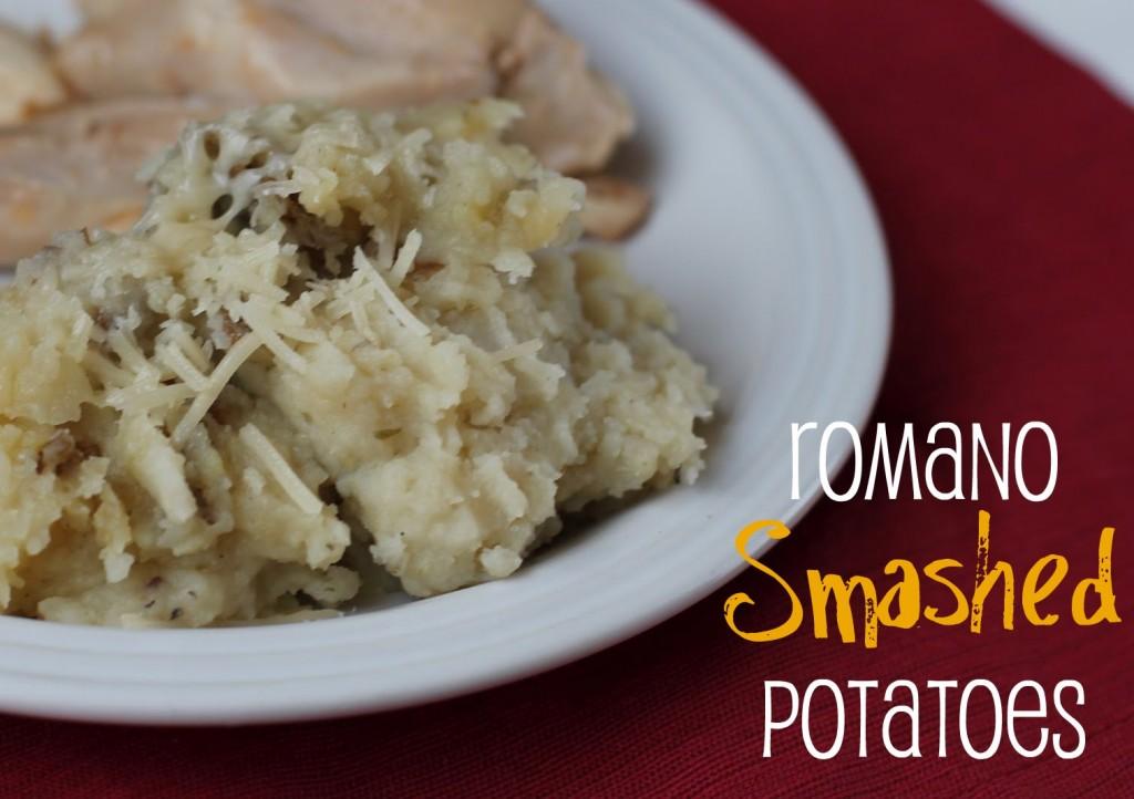 romano smashed potato recipe