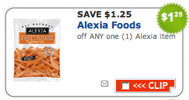 alexia foods coupon