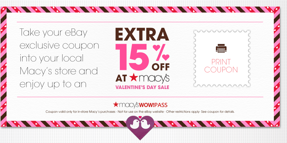 macys valentines day savings pass coupon