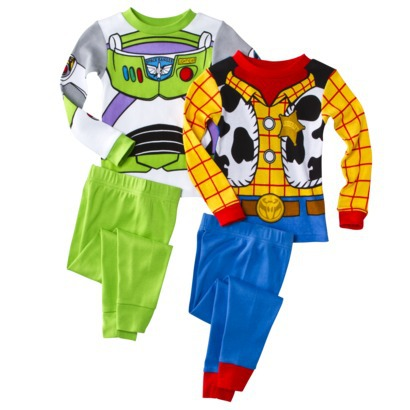Toy Story Toddler Boys Long-Sleeve 4-Piece Pajama Set - Target Clearance
