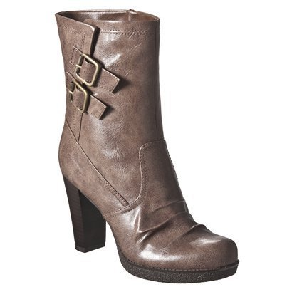 Women's Mossimo® Keeley Heeled Boots - Target Clearance