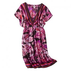 Xhilaration® Juniors Satin Kimono Dress - Target
