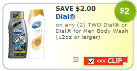 dial men's body wash coupon