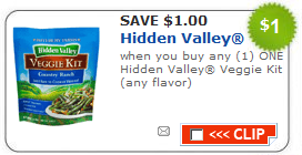 hidden valley veggie kit target deal