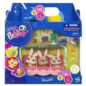 littlest pet shop bunnies amazon toy deal