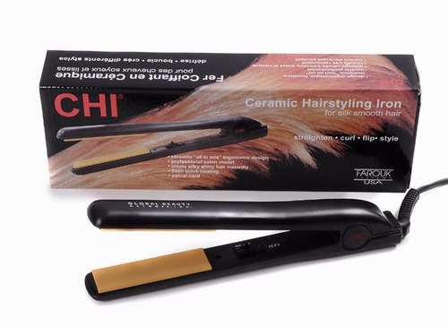 HSI The Styler Ceramic Tourmaline Ionic Flat Iron Hair Straightener, 1