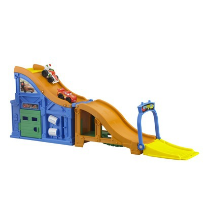 Fisher-Price Little People® Cars 2 Wheelies Race Track