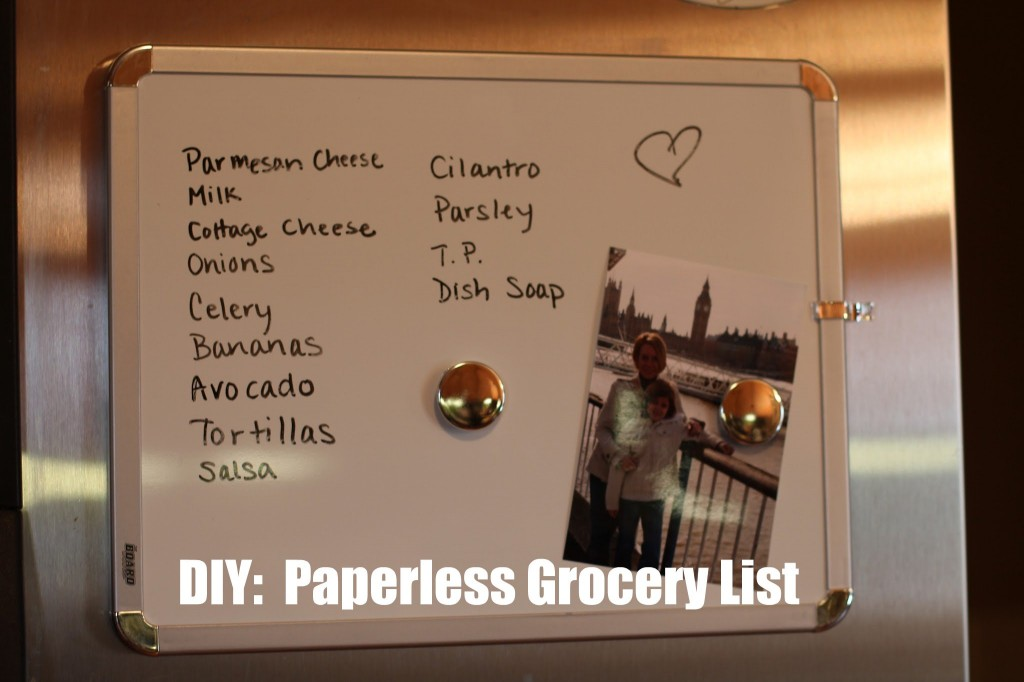 paperless grocery list