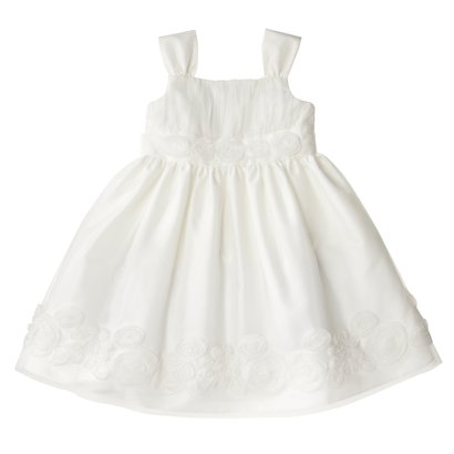 Infant Toddler Girls Sleeveless Mesh Dress - Ivory - Target Daily Deal