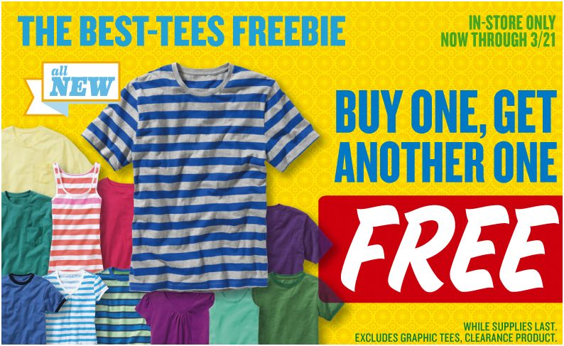 Old Navy - BOGO Tees