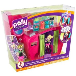 Polly Pocket Pop 'N Lock Fashion Change Photo Booth Playset - Amazon Toy Deal