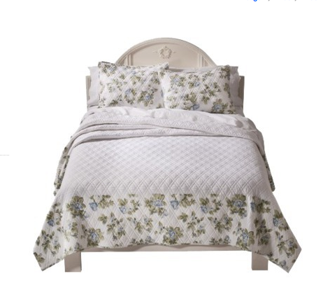 Simply Shabby Chic® Floral Bedspread - Blue