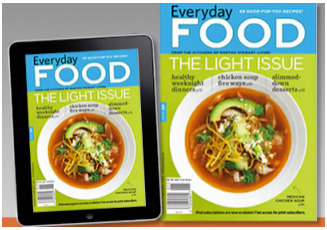 everyday food magazine