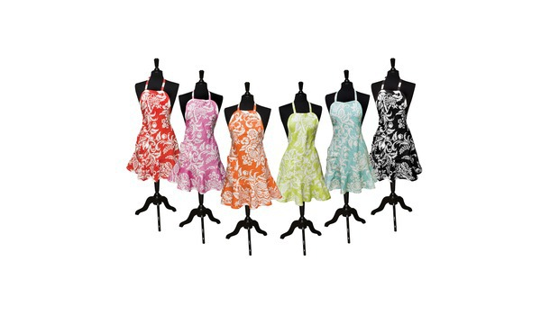 Felicia Damask Apron Collection - Target
