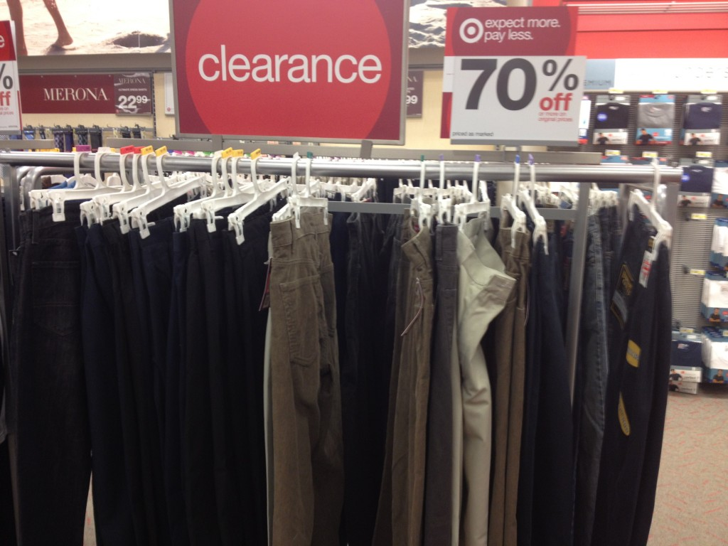 target women's clothing clearance