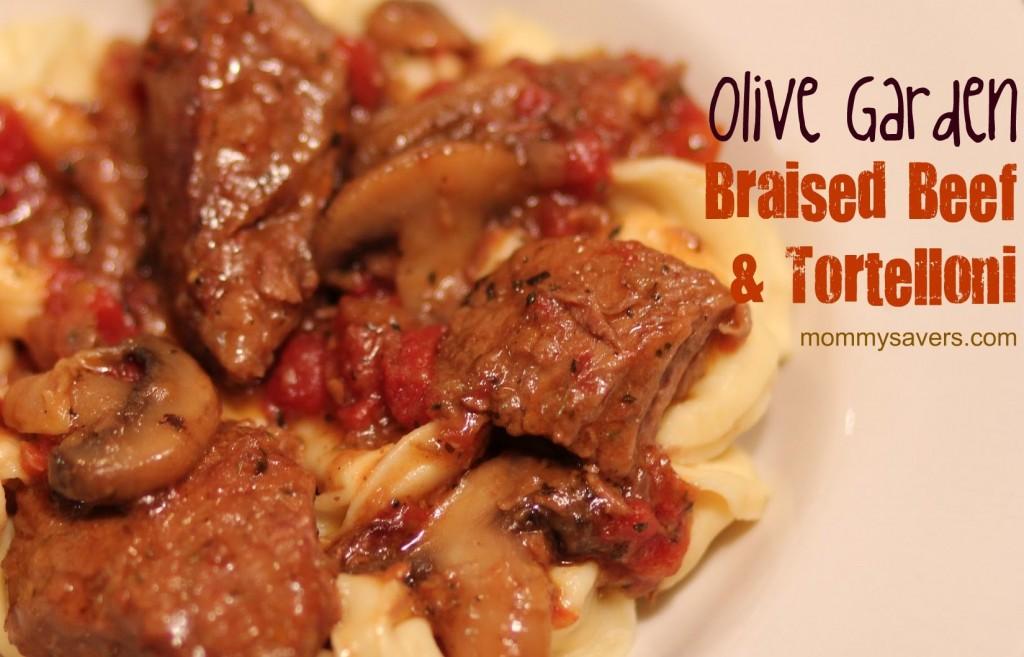 Copycat Recipe Olive Garden Braised Beef Tortelloni