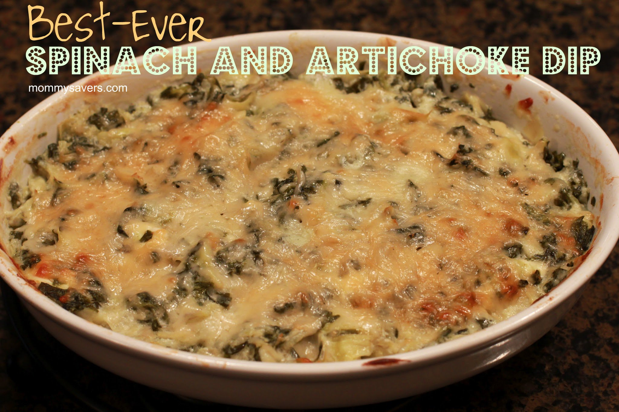 Best-Ever Spinach and Artichoke Dip | Mommysavers