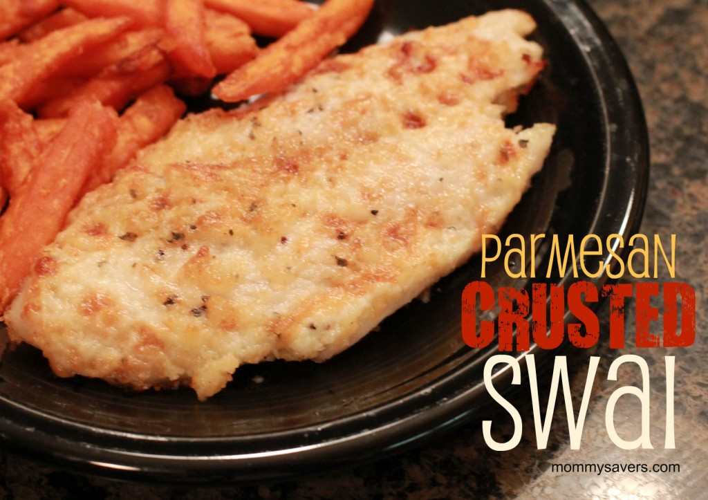 Parmesan Crusted Swai Quick Easy And Frugal