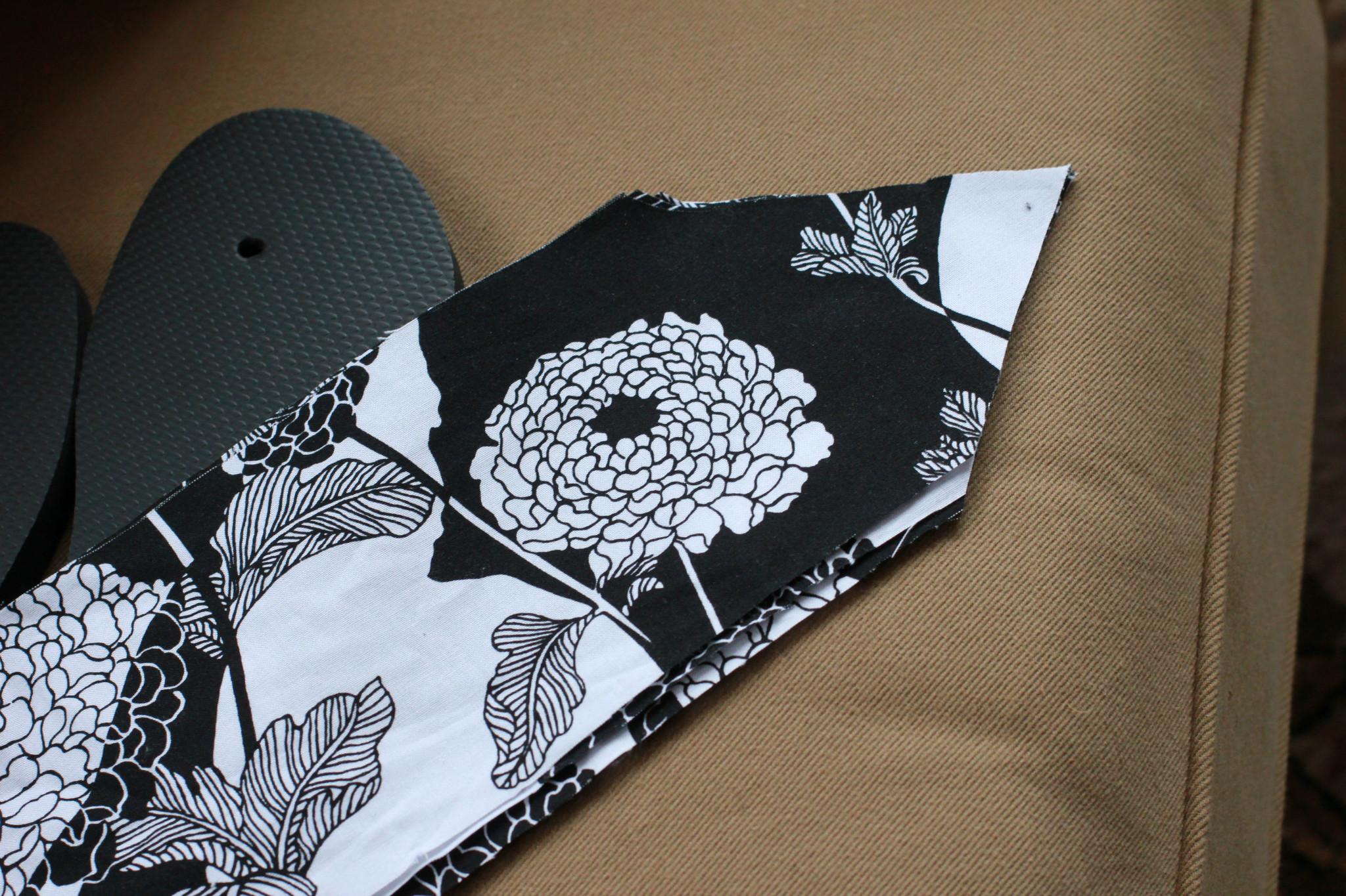 Kate Spade Inspired Diy Fabric Flip Flops For Just 3 50