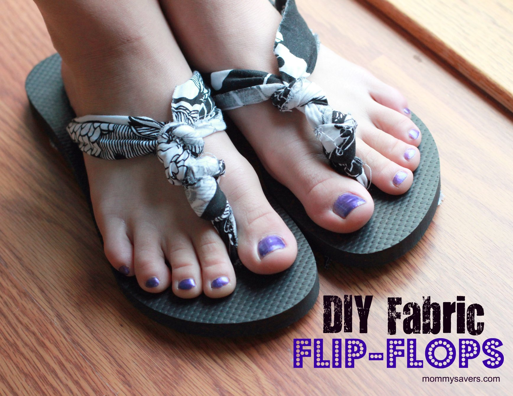 33d93ded7 DIY Fabric Flip-Flop Project Cost  Old Navy Flip-Flops 2  5 ( 2.50 pair)  1 4 Yard Fabric  1.00