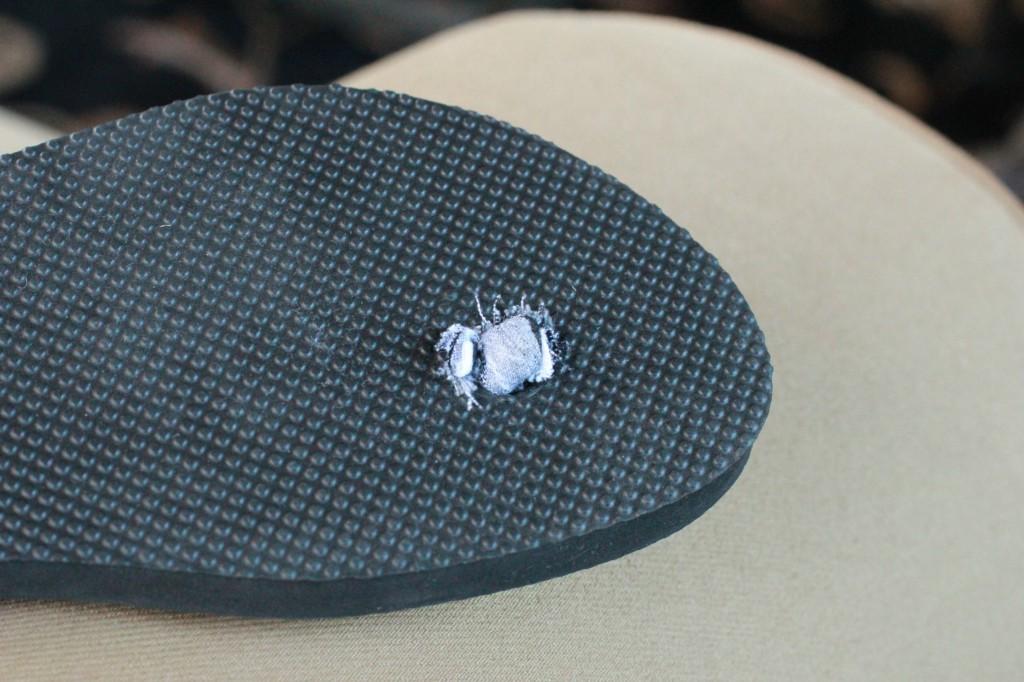 fabric flip-flops