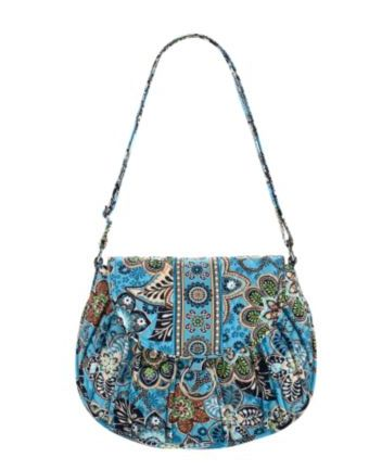 Saddle Up in Bali Blue Bag - Vera Bradley