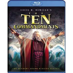 The Ten Commandments - blu ray - Amazon