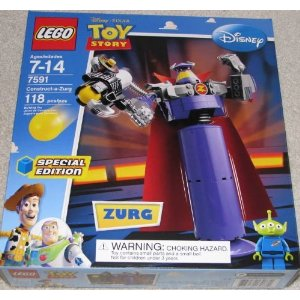 Toy Story Exclusive Special Edition Set #7591 Construct a Zurg