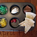 april fools muffin tin meal