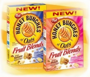 honey bunches fruit blends cereal coupon
