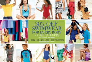 lands' end swimwear sale