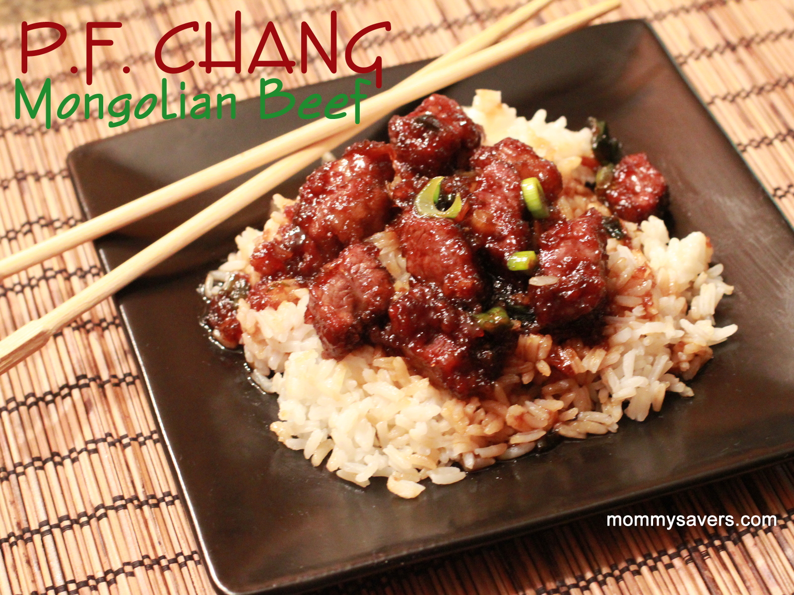 Mongolian beef, Recipe, Table for Two blog