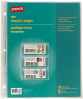 staples couponing binder