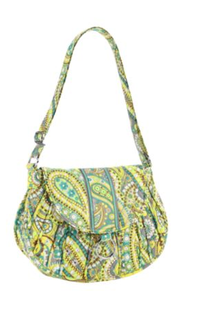 vera bradley-saddle up bag