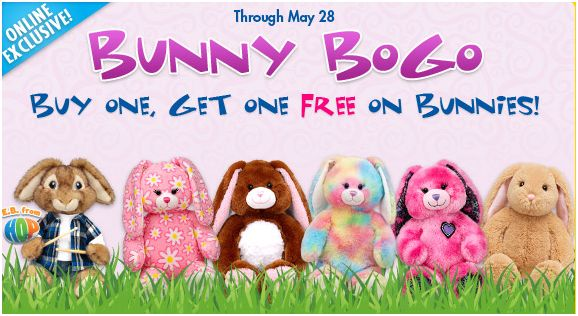 Build a Bear BOGO Bunnies