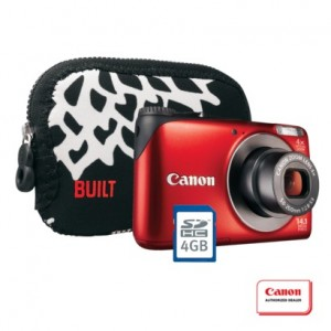 Canon PowerShot A2200 14.1MP Digital Camera Kit with Carrying Case and 4GB Memory Card  - Target