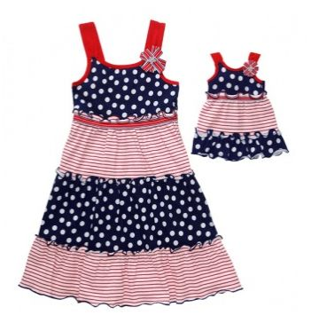 Dollie and Me 4th of July Dresses - Totsy