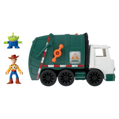 Fisher Price Imaginext TS3 Garbage Truck - Target