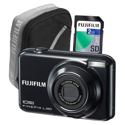Fujifilm FinePix AX330 14MP Digital Camera Kit - Target