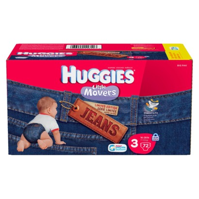 Huggies Little Movers Jeans - Big Pack - Target