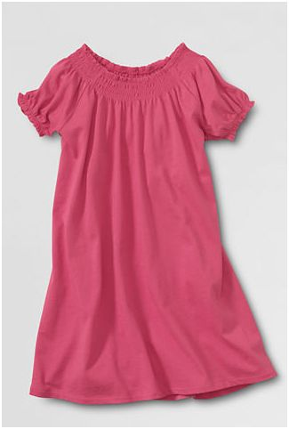 Lands' End Girls Tunic Top