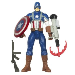 Marvel Captain America Electronic Feature Play Action Figure - Amazon Toy Deal