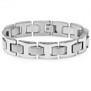 Men's Heavy Solid Stainless Steel Chain Link Bracelet - Amazon