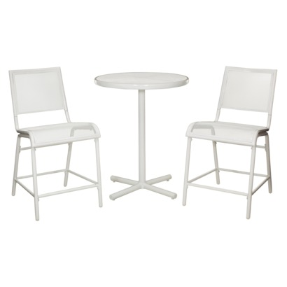 Room Essentials™ LaSalle 3-Piece Mesh Patio Bar Height Bistro Furniture Set